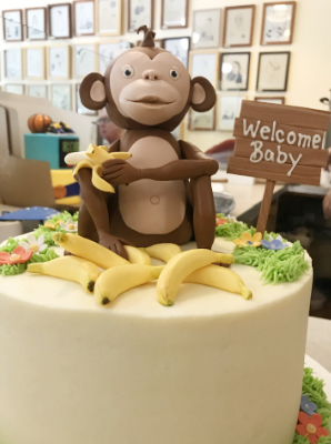 Monkey Custom Cake from The Able Baker