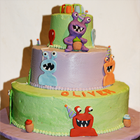Cake with Monsters