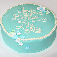Tiffany Blue Birthday Cake