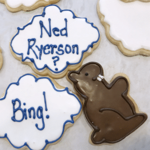 Groundhog Day Sugar Cookies