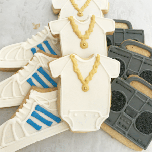 Hip Hop Onesies Sugar Cookies