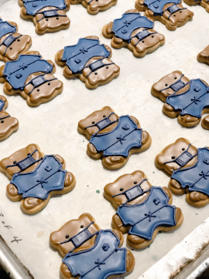 Teddy Bear Doctor Sugar Cookies