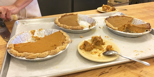 Pumpkin Pie Tasting at The Able Baker
