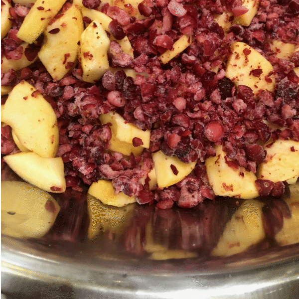 Cranberry-Apple Pie Filling